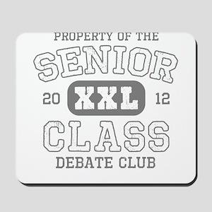 Senior 2012 Debate Club Mousepad