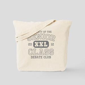 Senior 2012 Debate Club Tote Bag