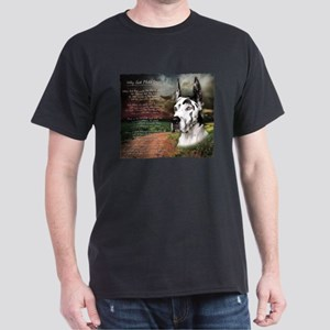 """Why God Made Dogs"" Great Dane Dark T-Shirt"