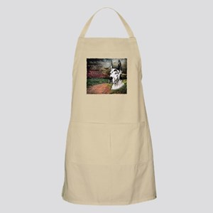 """""""Why God Made Dogs"""" Great Dane Apron"""