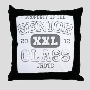Senior 2012 JROTC Throw Pillow