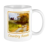 Country Road with Barn 11 oz Ceramic Mug