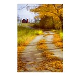 Country Road with Barn Postcards (Package of 8)