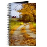 Country Road with Barn Journal