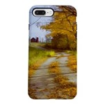 Country Road with Barn iPhone 7 Plus Tough Case