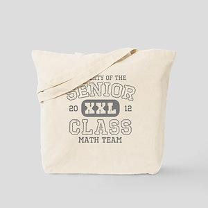 Senior 2012 Math Team Tote Bag