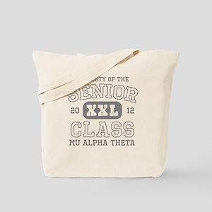 Senior 2012 Mu Alpha Theta Tote Bag