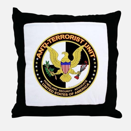 Anti Terrorist Unit  Throw Pillow