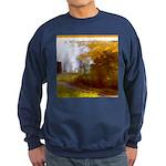 Country Road with Barn Sweatshirt (dark)