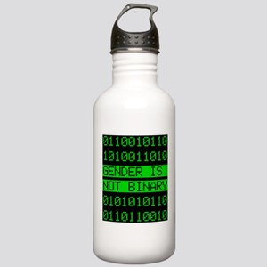 Gender is not Binary Stainless Water Bottle 1.0L