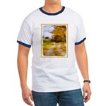Country Road with Barn Ringer T