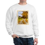 Country Road with Barn Sweatshirt