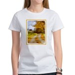 Country Road with Ba Women's Classic White T-Shirt