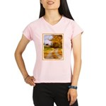 Country Road with Barn Performance Dry T-Shirt