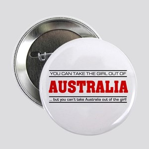 "'Girl From Australia' 2.25"" Button"