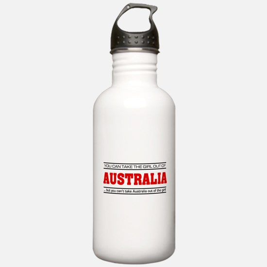'Girl From Australia' Water Bottle