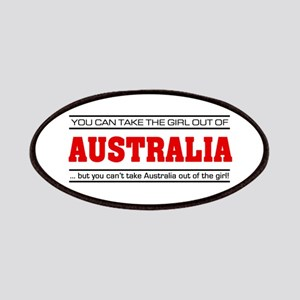 'Girl From Australia' Patches