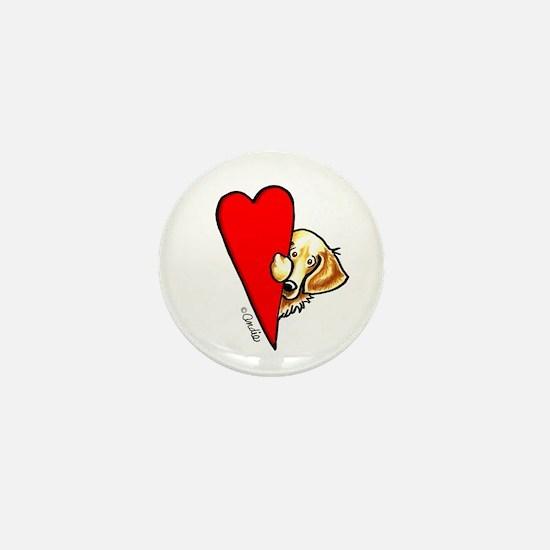 Love Goldens Mini Button