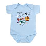 Vegan Halloween Infant Bodysuit