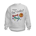 Vegan Halloween Kids Sweatshirt