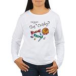 Vegan Halloween Women's Long Sleeve T-Shirt