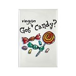 Vegan Halloween Rectangle Magnet (10 pack)