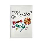 Vegan Halloween Rectangle Magnet (100 pack)
