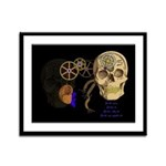 Steampunk Magnetic Visions Framed Panel Print
