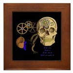 Steampunk Magnetic Visions Framed Tile