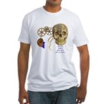 Steampunk Magnetic Visions Fitted T-Shirt