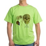 Steampunk Magnetic Visions Green T-Shirt