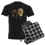 Steampunk Magnetic Visions Men's Dark Pajamas