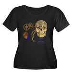 Steampunk Magnetic Visions Women's Plus Size Scoop