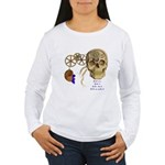 Steampunk Magnetic Visions Women's Long Sleeve T-S