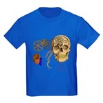 Steampunk Magnetic Visions Kids Dark T-Shirt