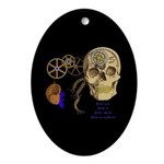 Steampunk Magnetic Visions Ornament (Oval)