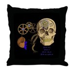 Steampunk Magnetic Visions Throw Pillow