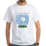 Occupy Wall Street what 99% l White T-Shirt