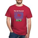 Occupy Wall Street what 99% l Dark T-Shirt