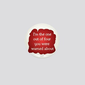 Whacko Warning Mini Button
