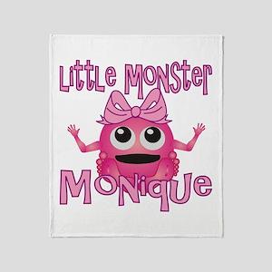 Little Monster Monique Throw Blanket