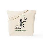 Cycling Hazard - Kamikaze Squ Tote Bag