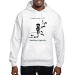 Cycling Hazard - Kamikaze Squ Hooded Sweatshirt