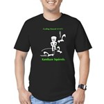 Cycling Hazard - Kamikaze Squ Men's Fitted T-Shirt