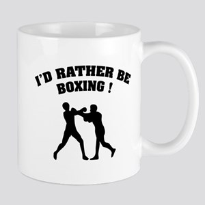I'd rather be boxing ! Mug