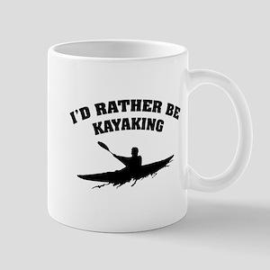 I'd rather be kayaking Mug