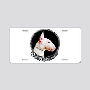 Bull Terrier Aluminum License Plate