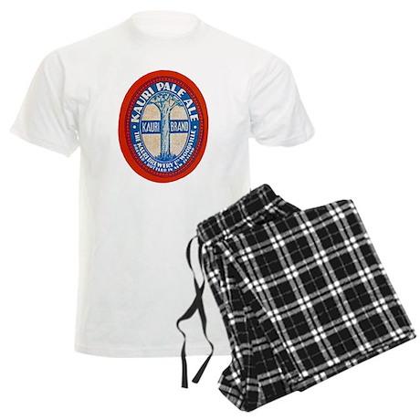 New Zealand Beer Label 4 Men's Light Pajamas