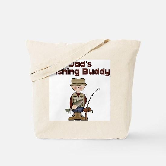 Dad's Fishing Buddy Tote Bag