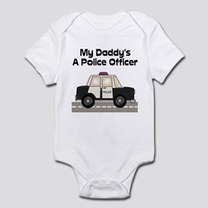 My Daddy's A Police Officer Infant Creeper